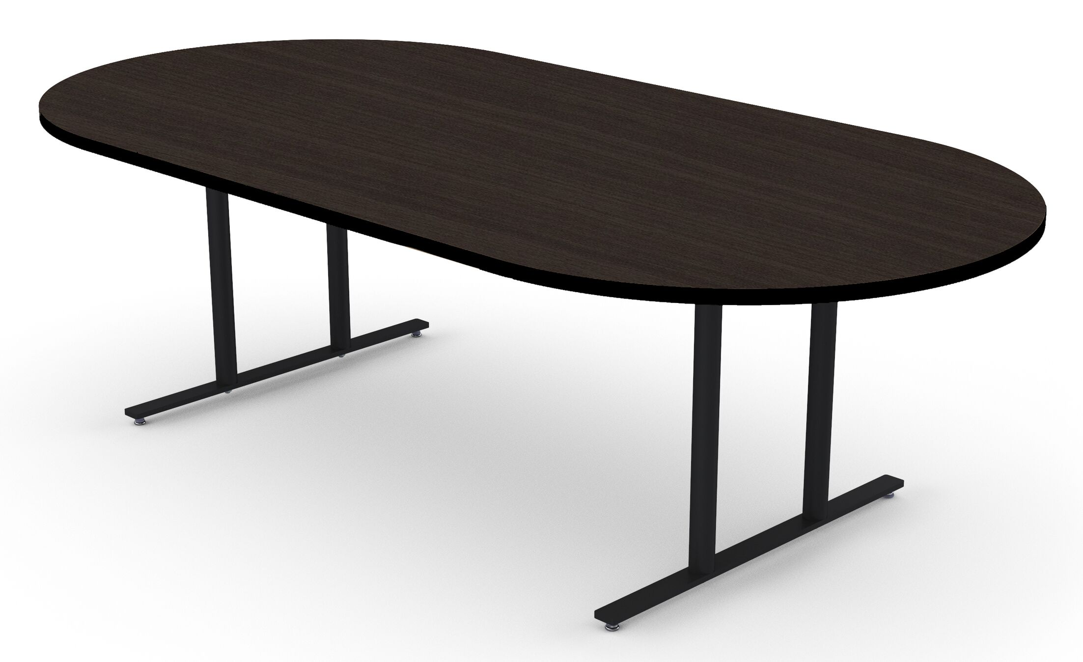 Oval Conference Table Size: 30
