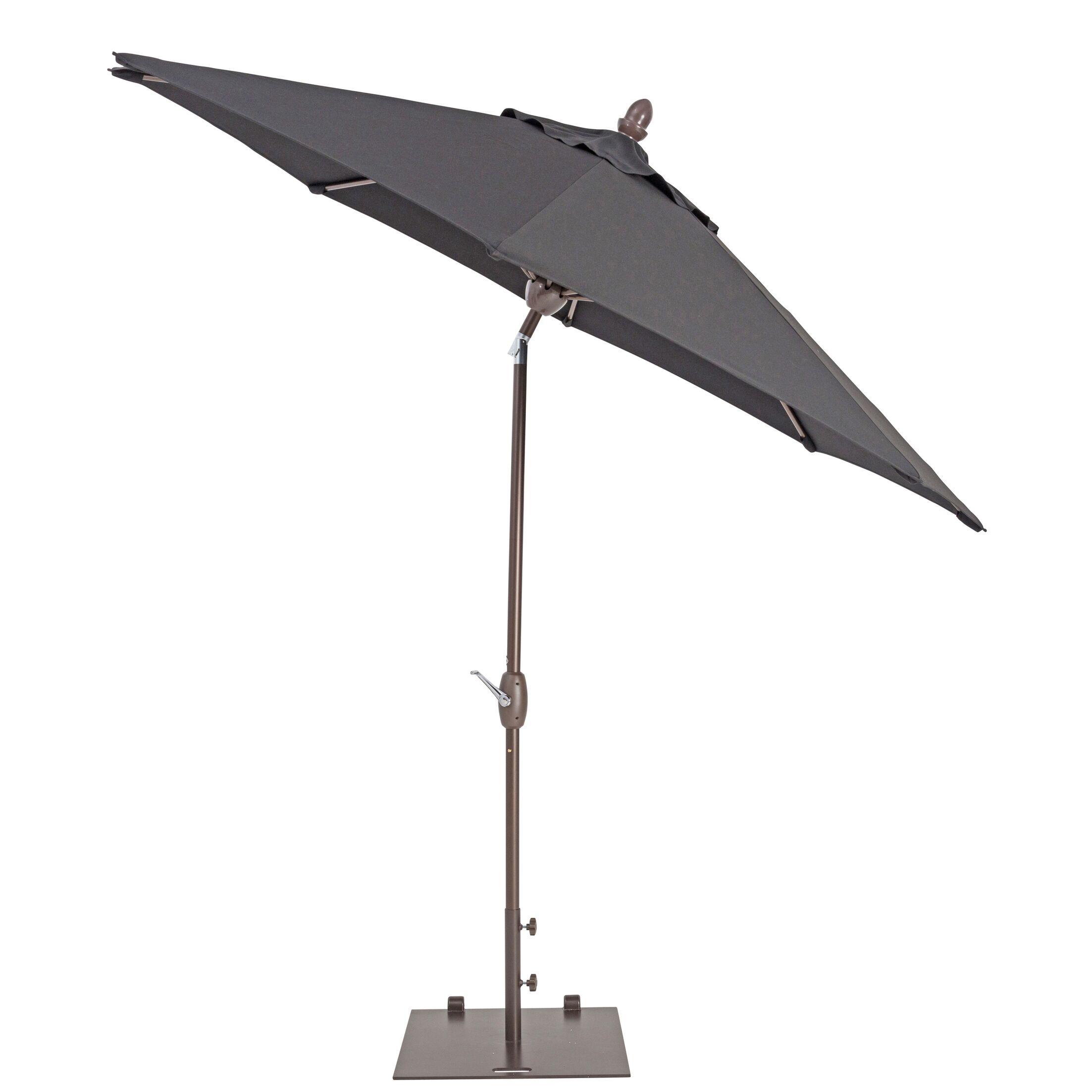 9' Market Umbrella Color: Black
