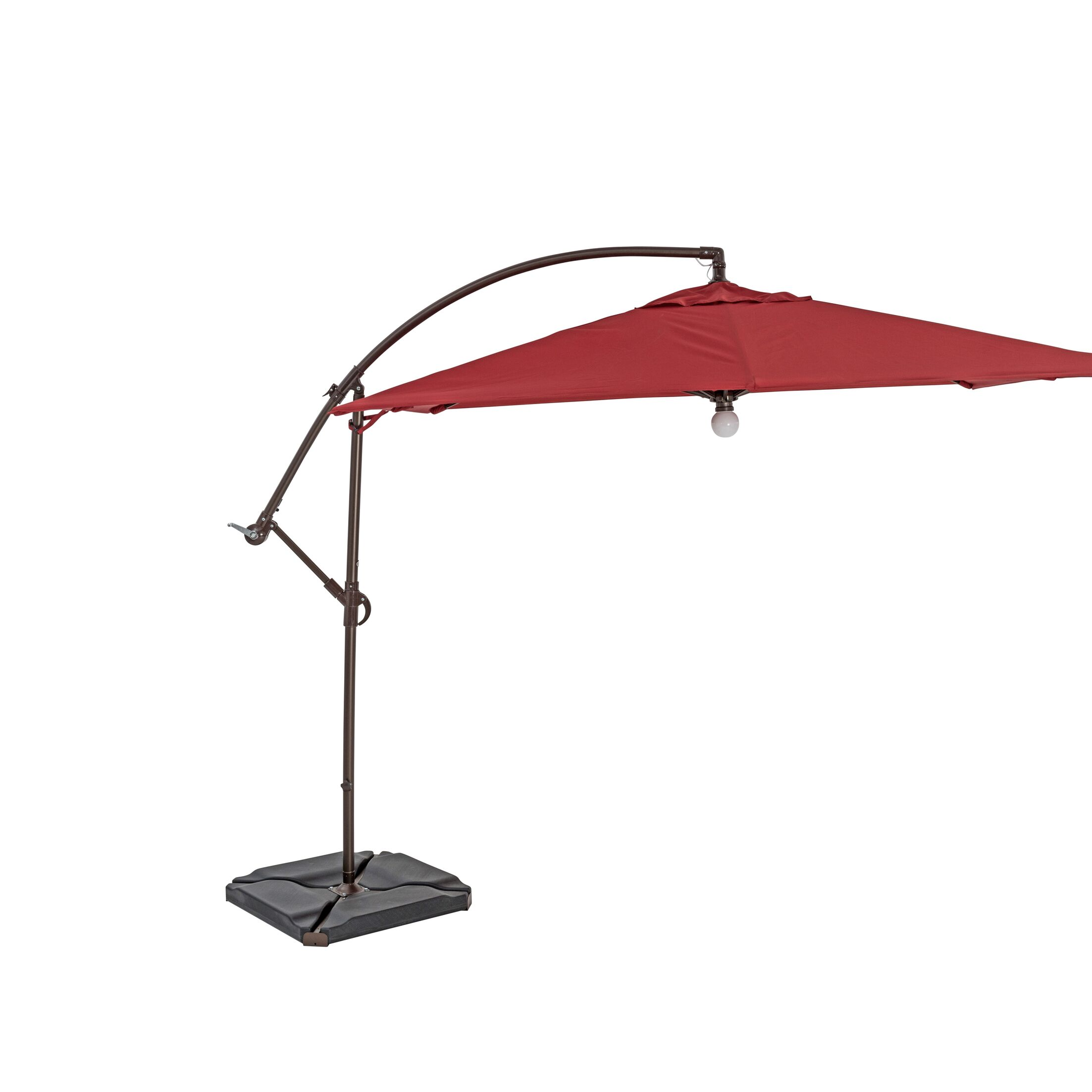 10' Square Cantilever Umbrella Color: Henna