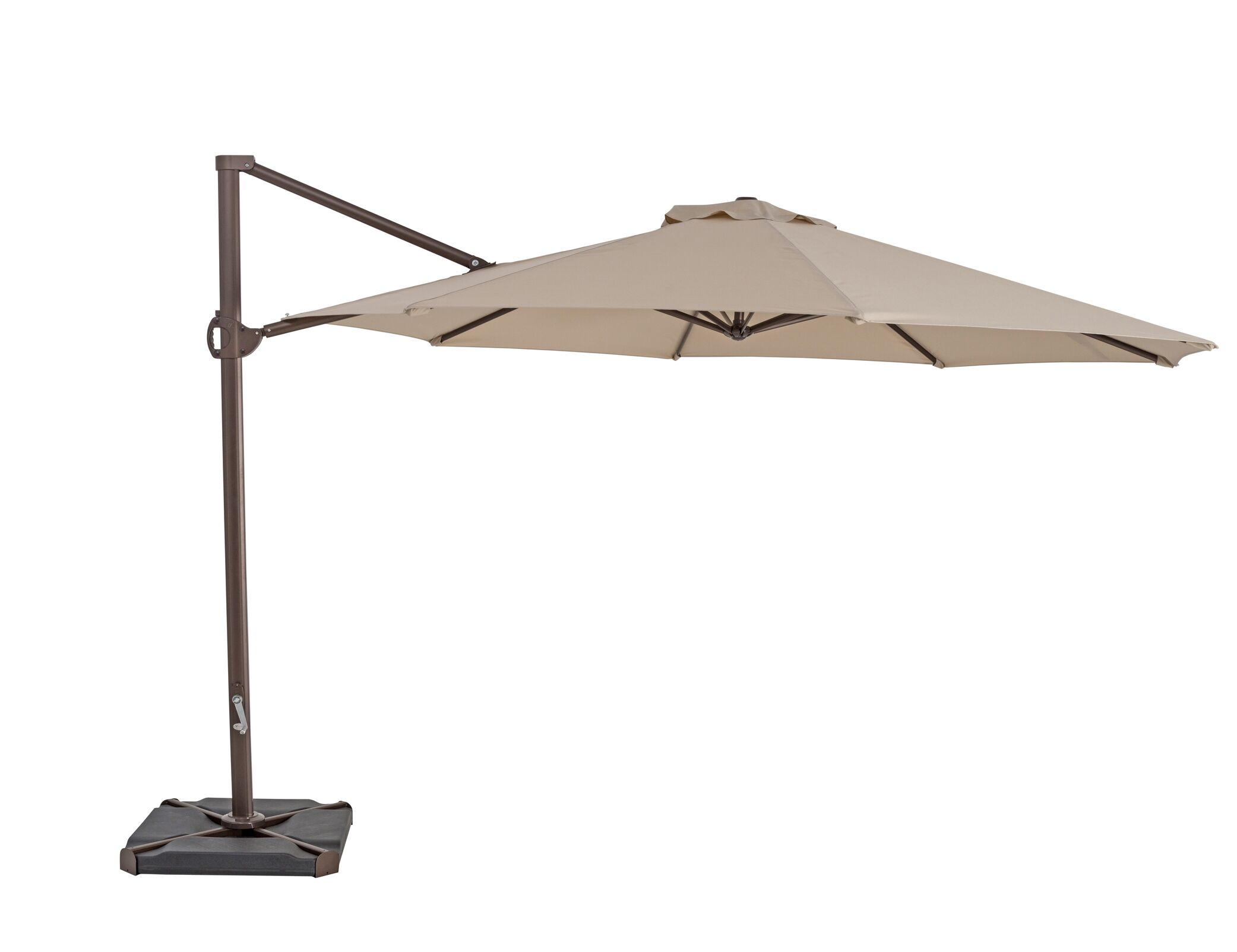 11.5' Cantilever Umbrella Color: Antique Beige