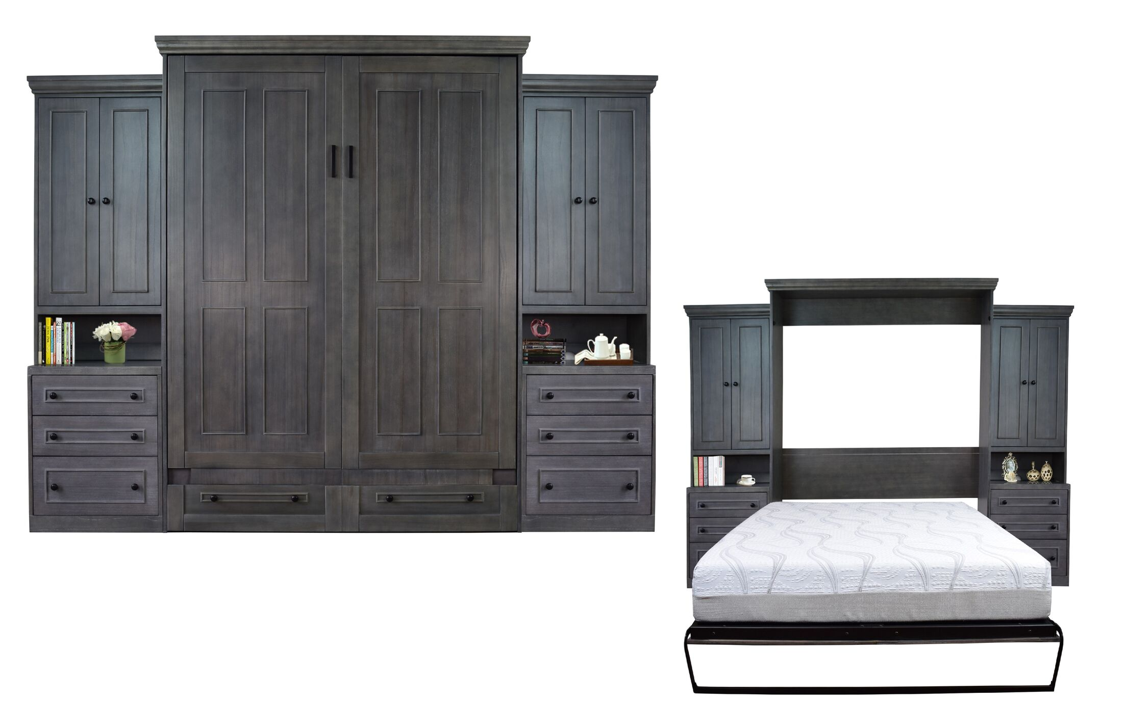 Sunset Dune Queen Storage Murphy Bed