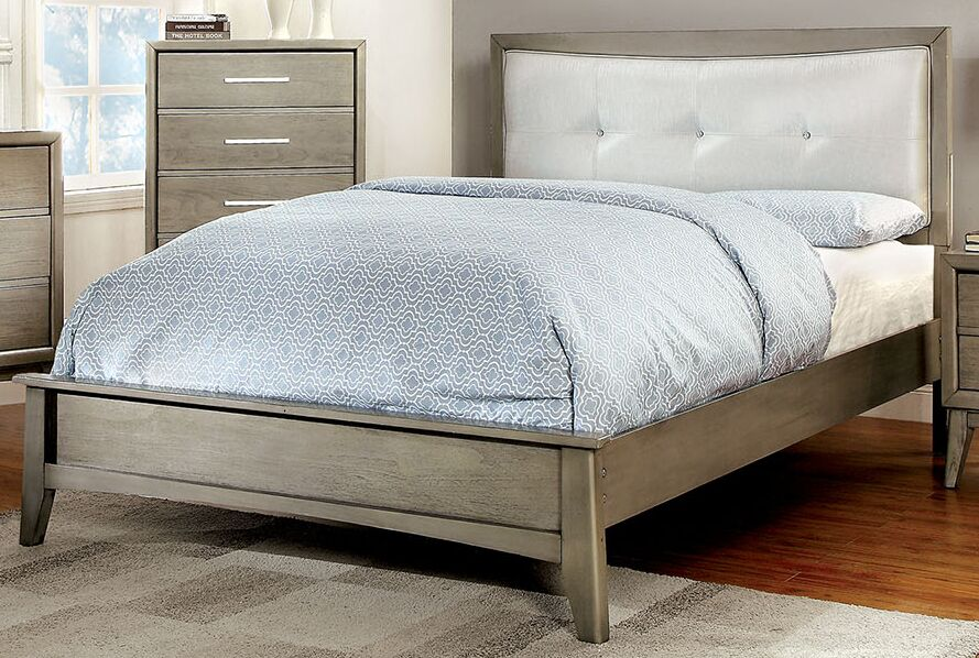 Siding Spring Upholstered Panel Bed Size: Queen