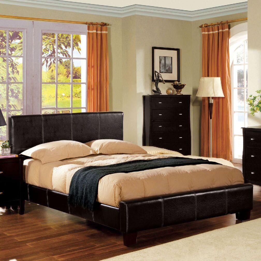 Upholstered Platform Bed Size: California King