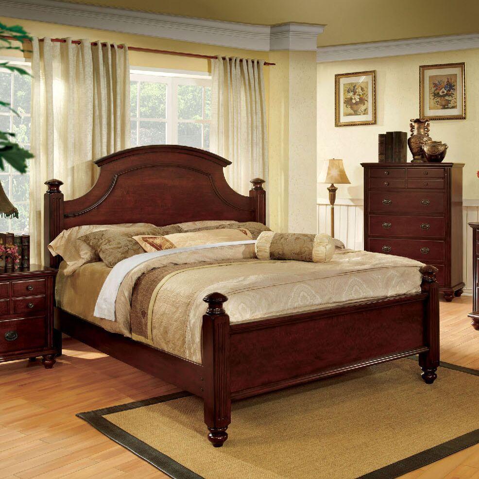 Quarry Platform Bed Size: King