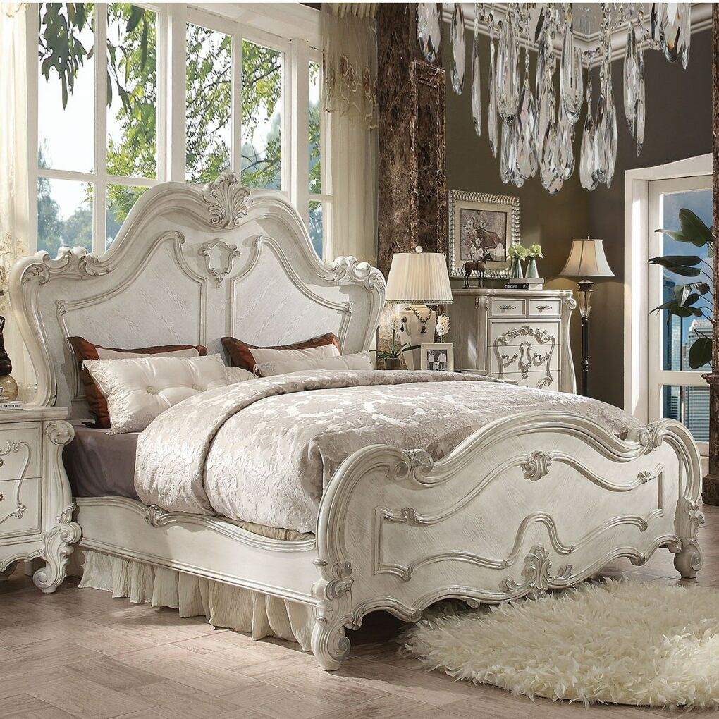 Queenies Sleigh Bed Size: King