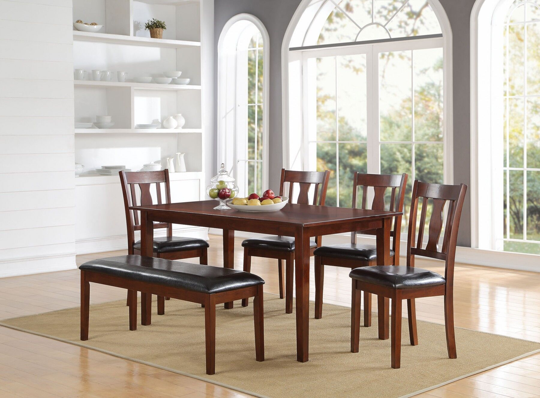 Dining Table Sets Eddie 6 Piece Solid Wood Dining Set April 2019