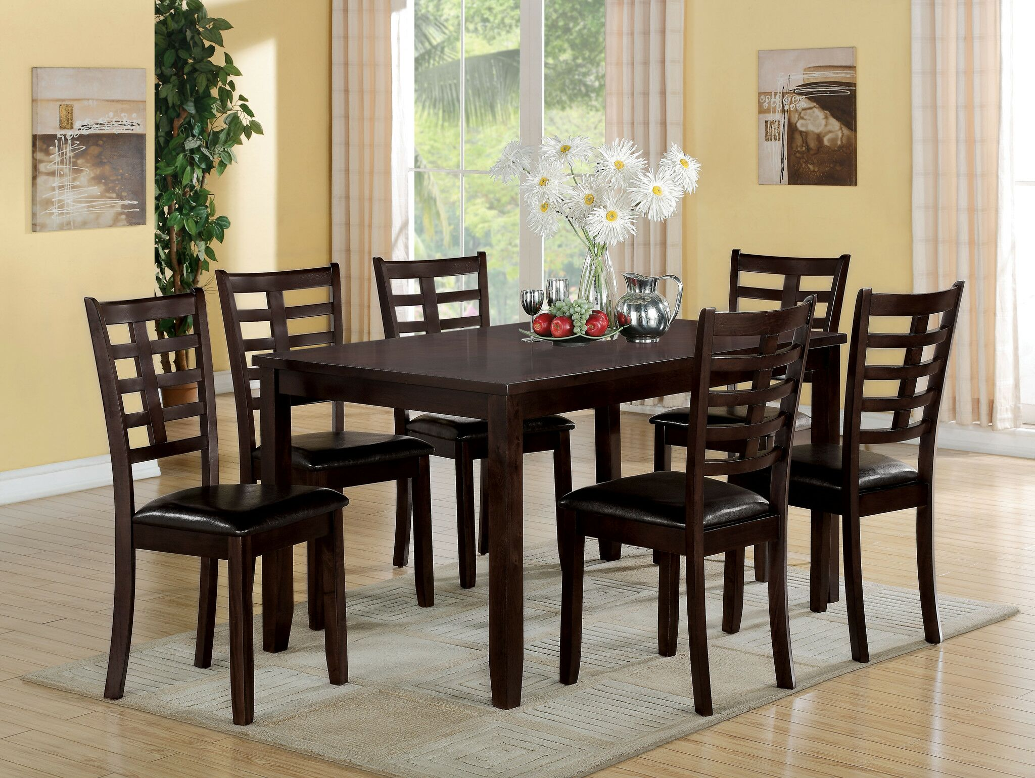 Dining Table Sets Seria 7 Piece Dining Set April 2019