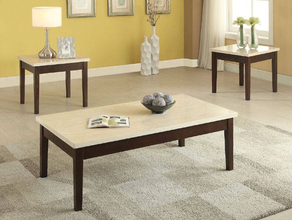Libra 3 Piece Coffee Table Set