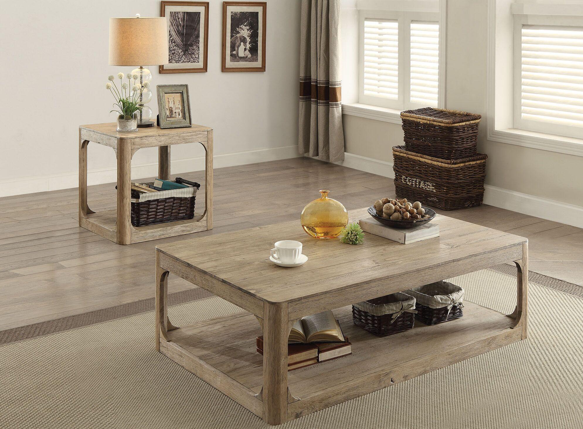 Zaina 2 Piece Coffee Table Set