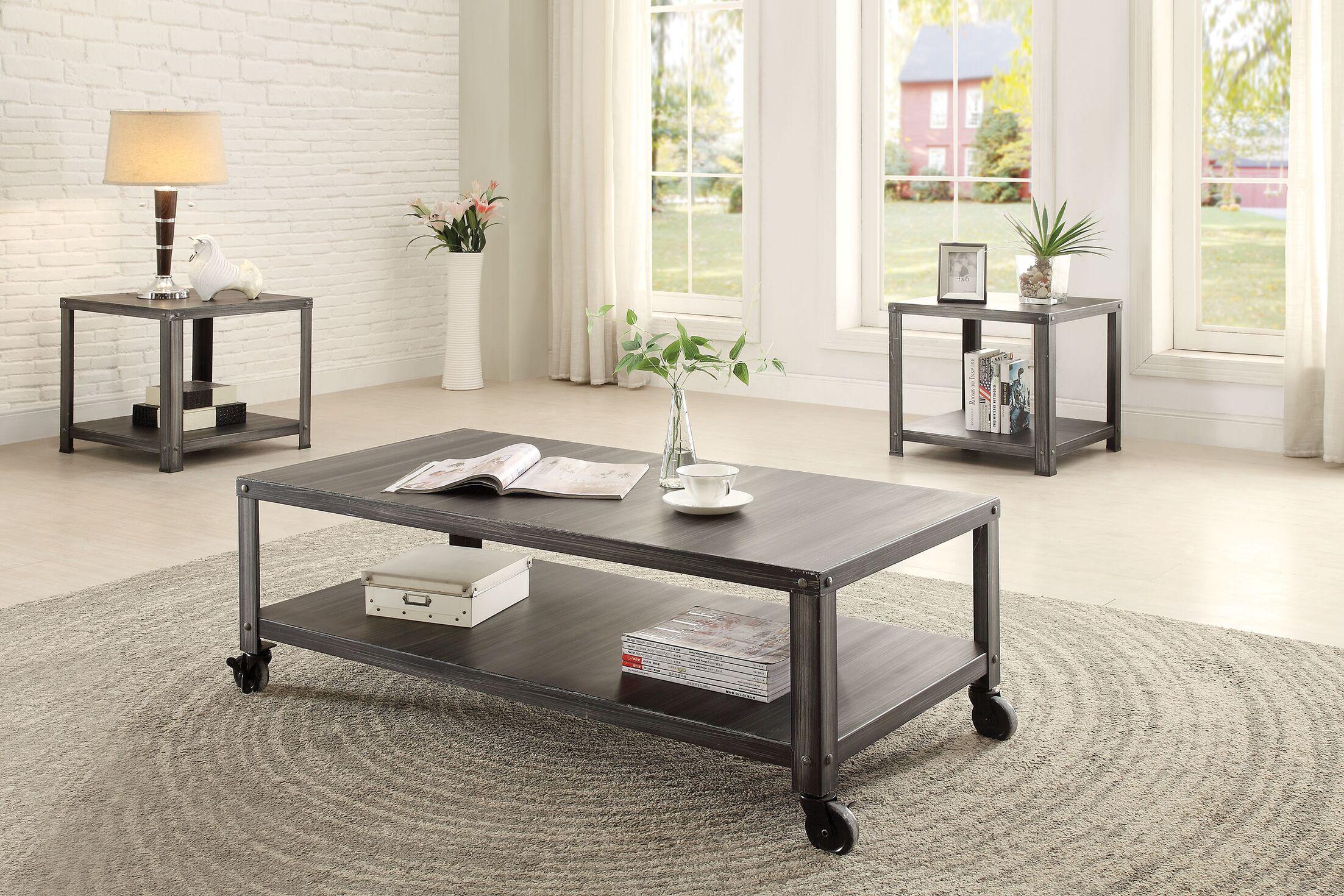 Sarina 2 Piece Coffee Table Set