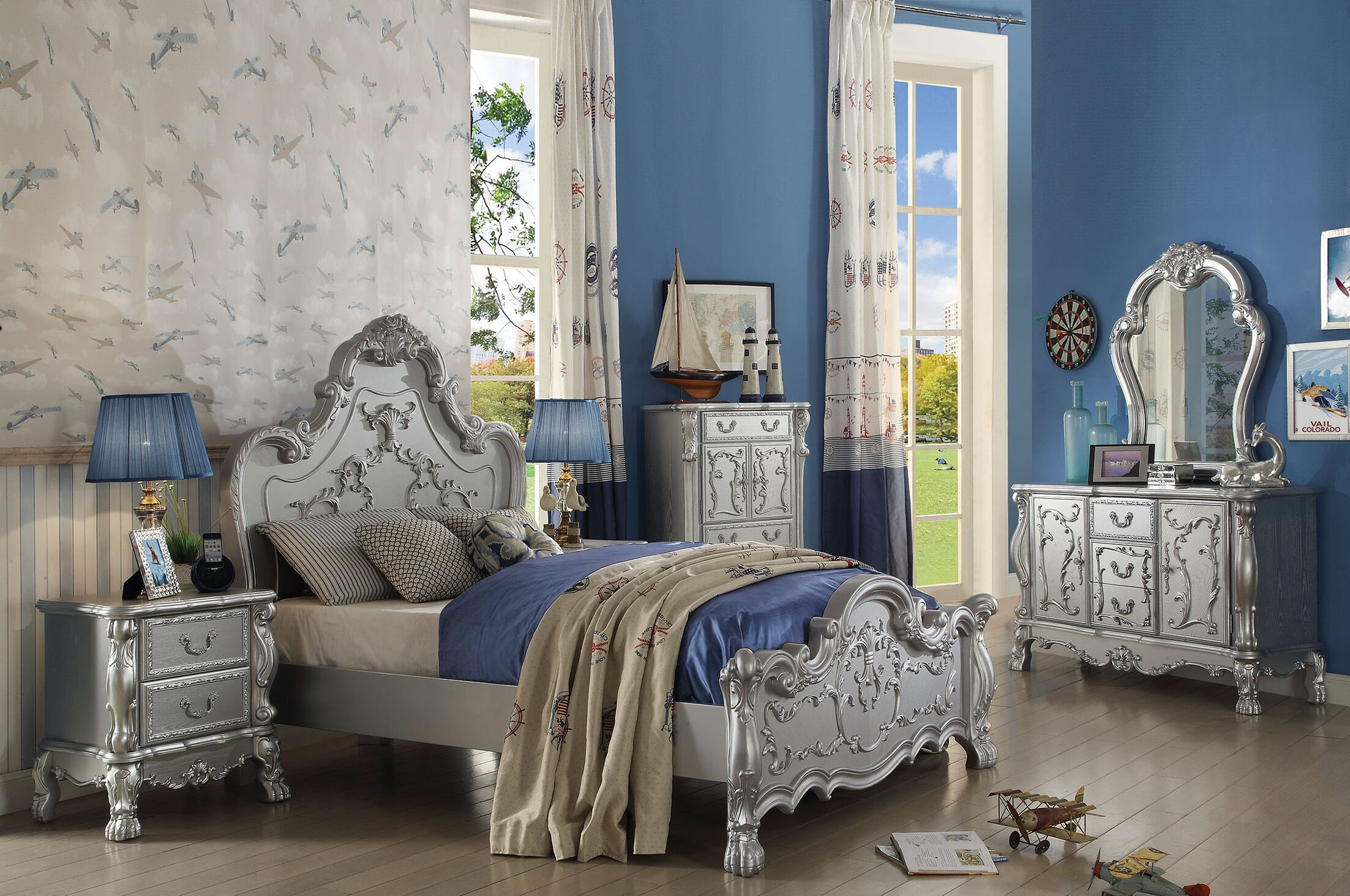 Villenova Panel Configurable Bedroom Set