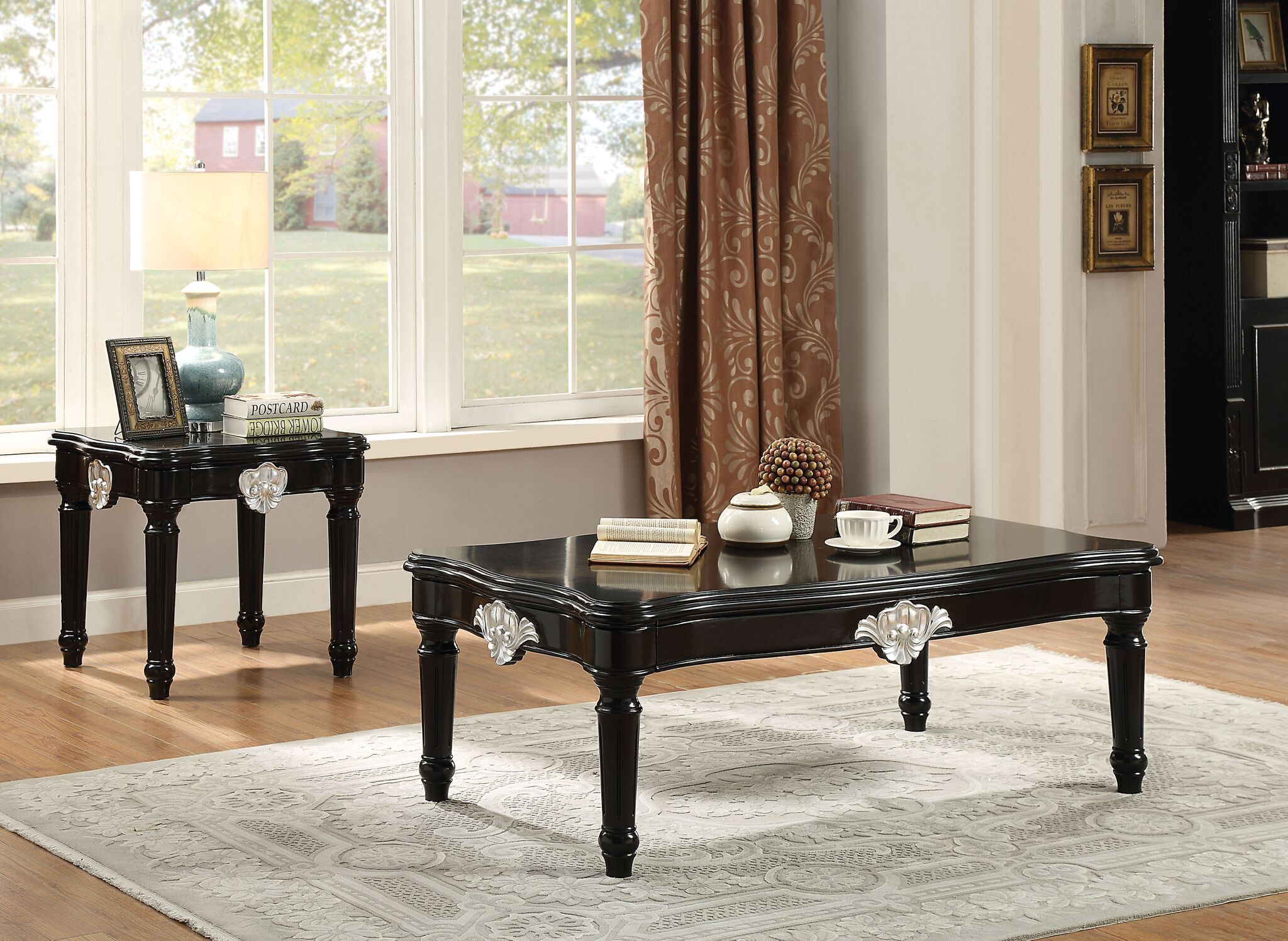 Rylance 2 Piece Rectangle Coffee Table Set
