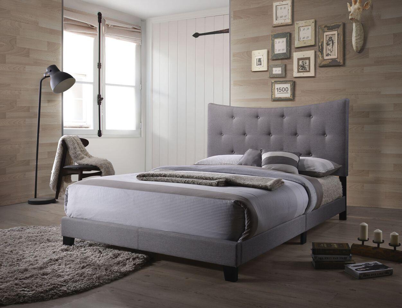 Swanner Queen Upholstered Panel Bed