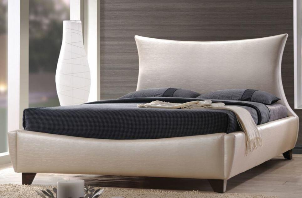 Glendenning Upholstered Panel Bed Size: European King