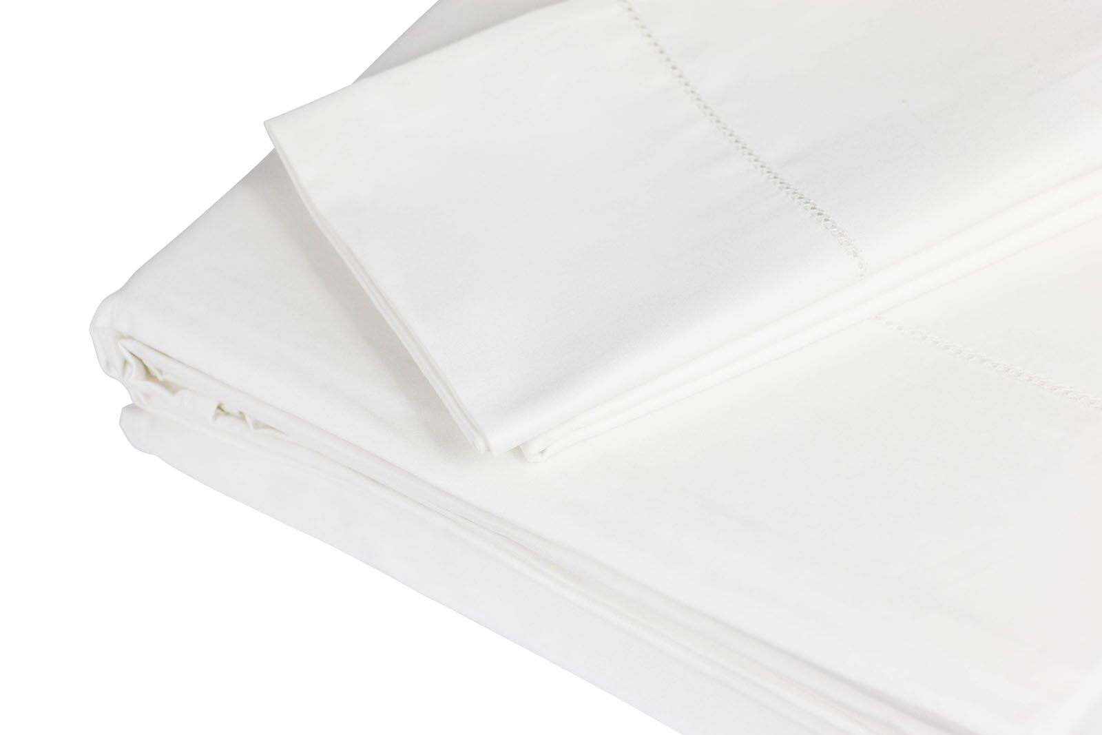 500 Thread Count 100% Cotton Sheet Set Color: Ivory, Size: King