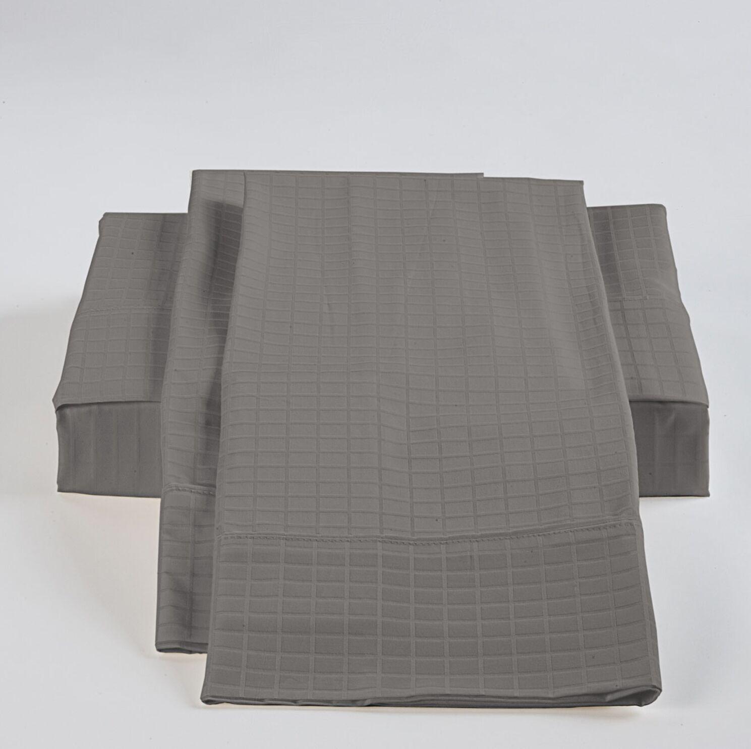 Sheet Set Color: Grey, Size: Queen