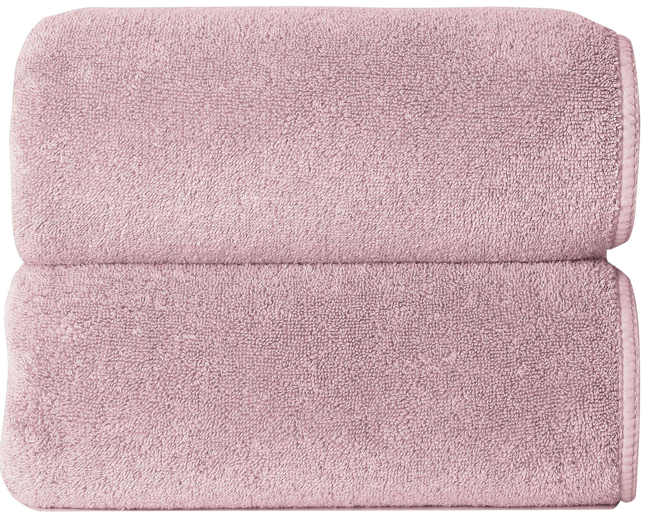 Hizer Sponge 6 Piece 100% Cotton Towel Set Color: Blush