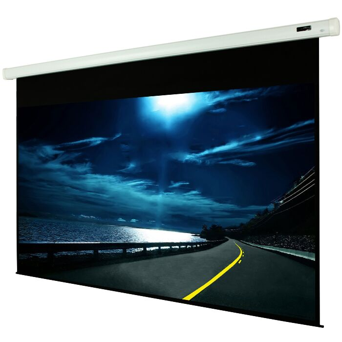 White Manual Projection Screen Viewing Area: 120