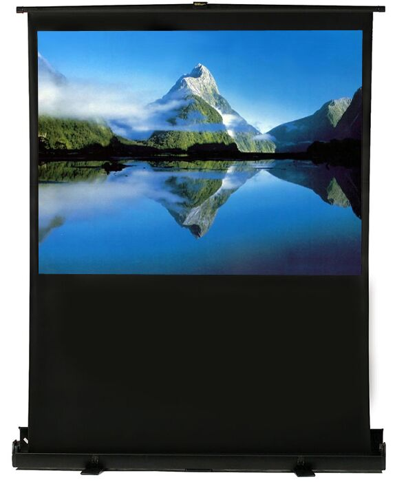 White Portable Projection Screen Viewing Area: 100