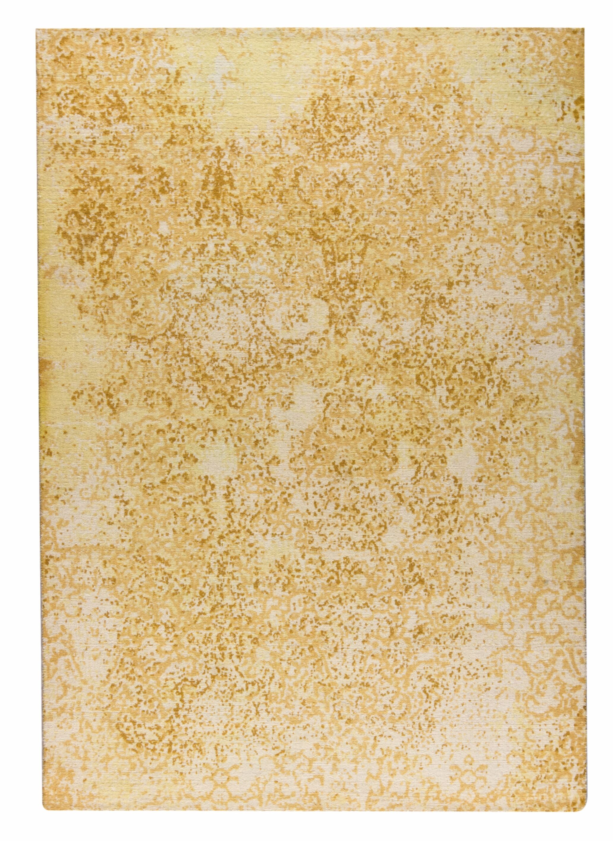 Arvada Hand-Woven Gold Area Rug Rug Size: 5' x 8'