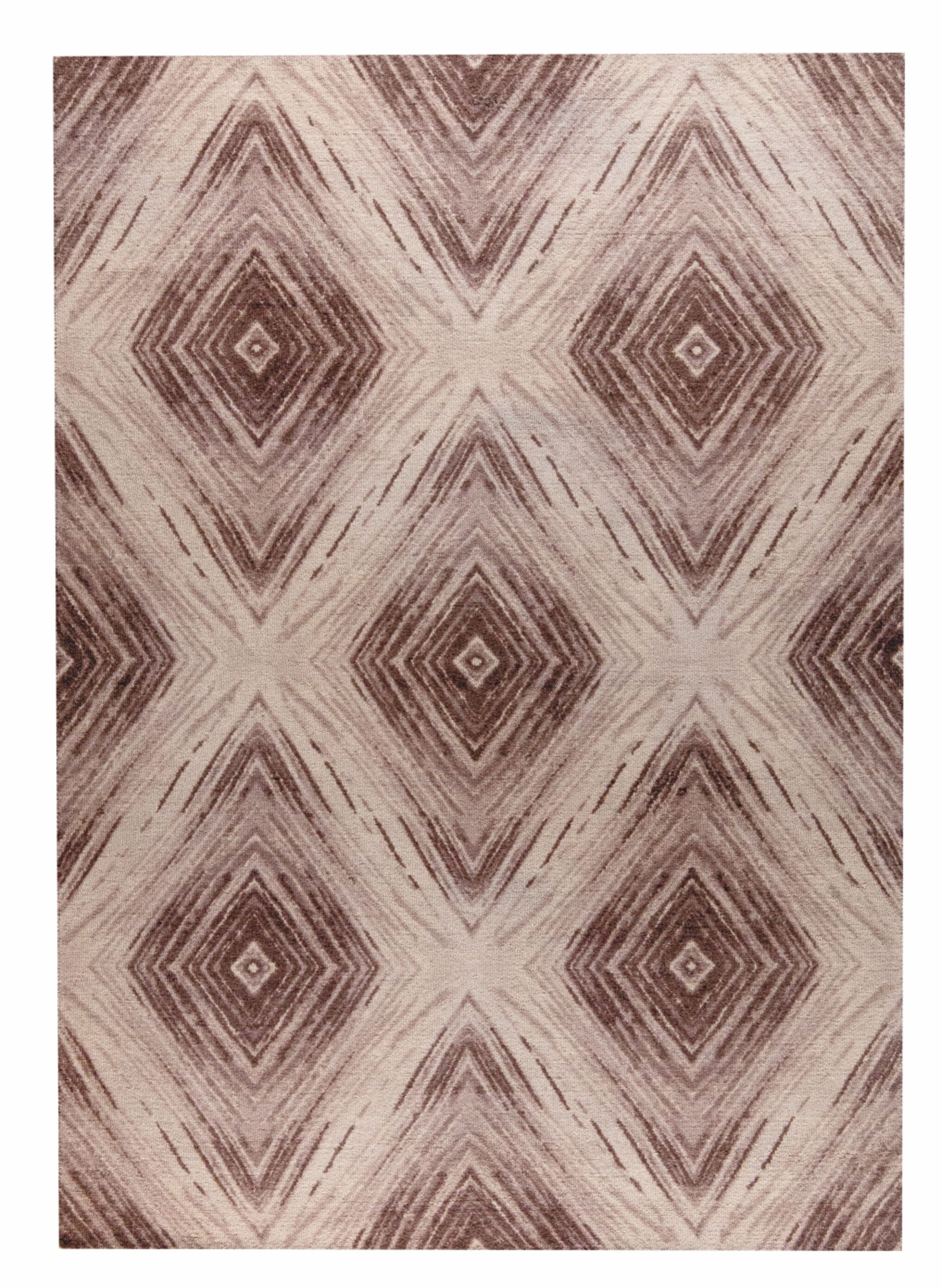 Lansing Hand-Woven Brown Area Rug Rug Size: 5' x 8'