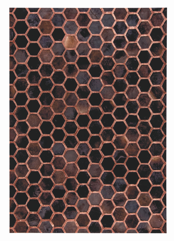 Vega Hand Woven Copper Area Rug Rug Size: 9' x 12'
