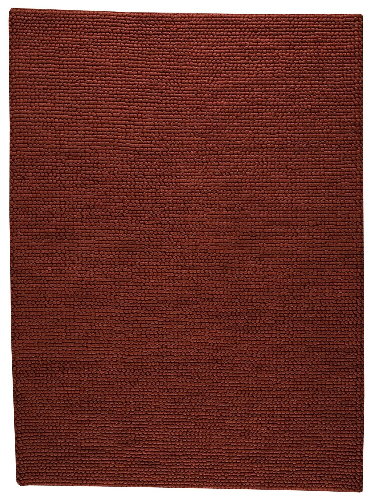 Hoefer Hand-Woven Red Area Rug Rug Size: 3' x 5'4