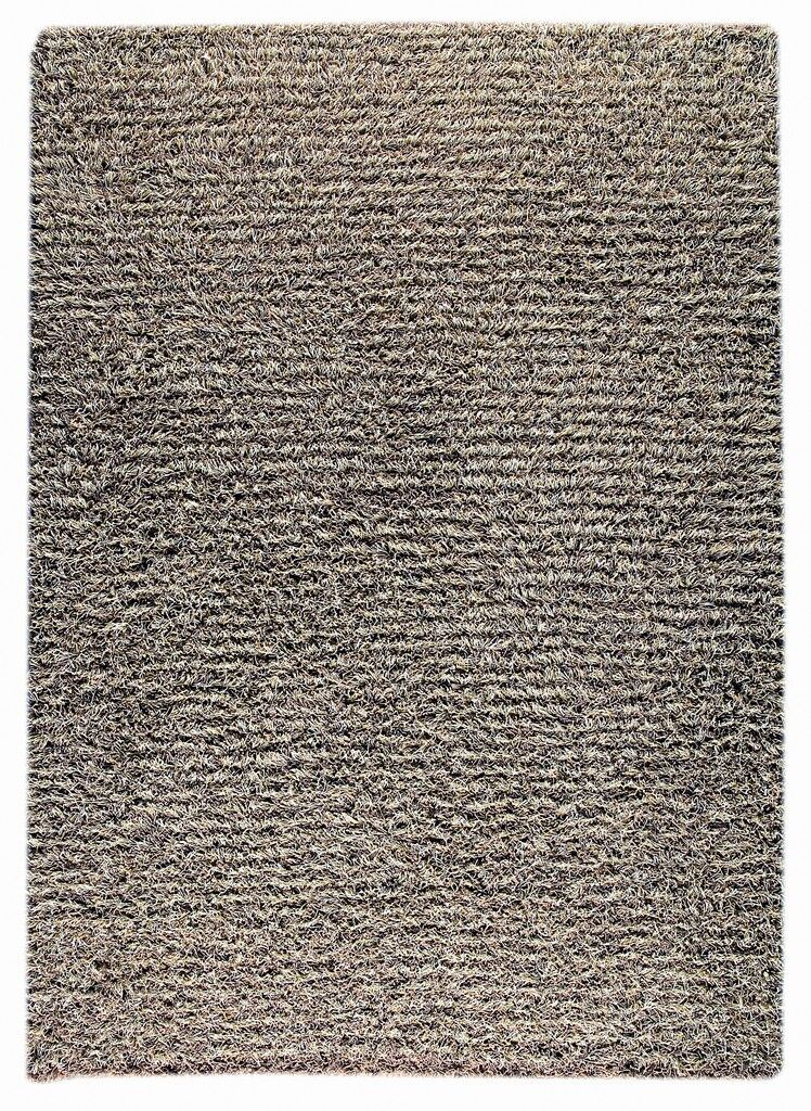 Hoglund Hand-Knotted Gray Area Rug Rug Size: 3' x 5'4