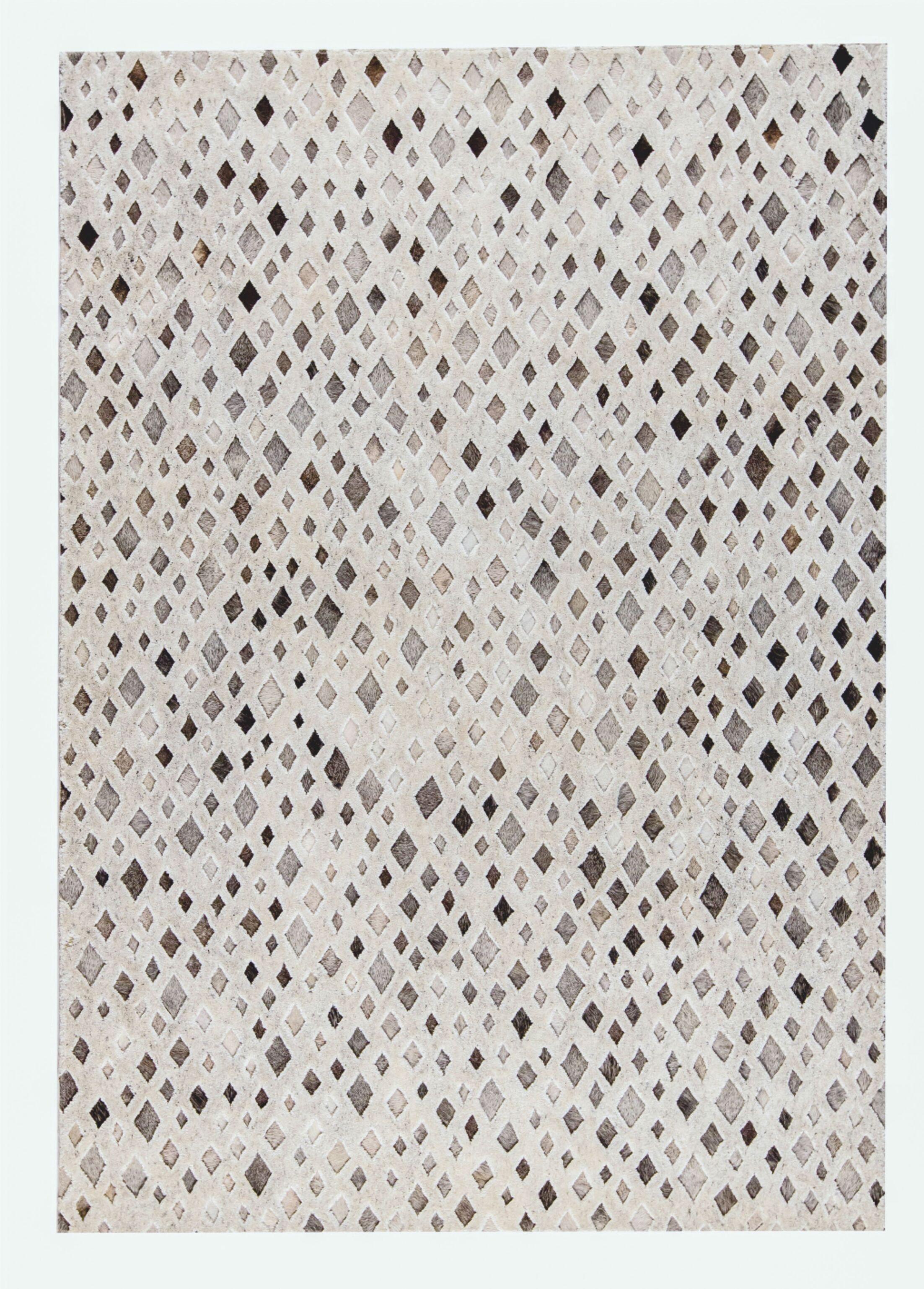 Galaxy Handmade Natural/White Area Rug Rug Size: 9' x 12'