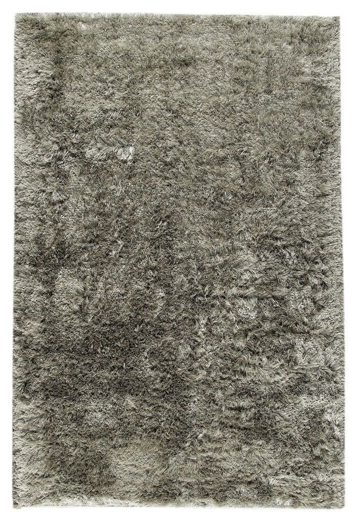 Hohman Hand-Woven Silver Area Rug Rug Size: 8' x 10'