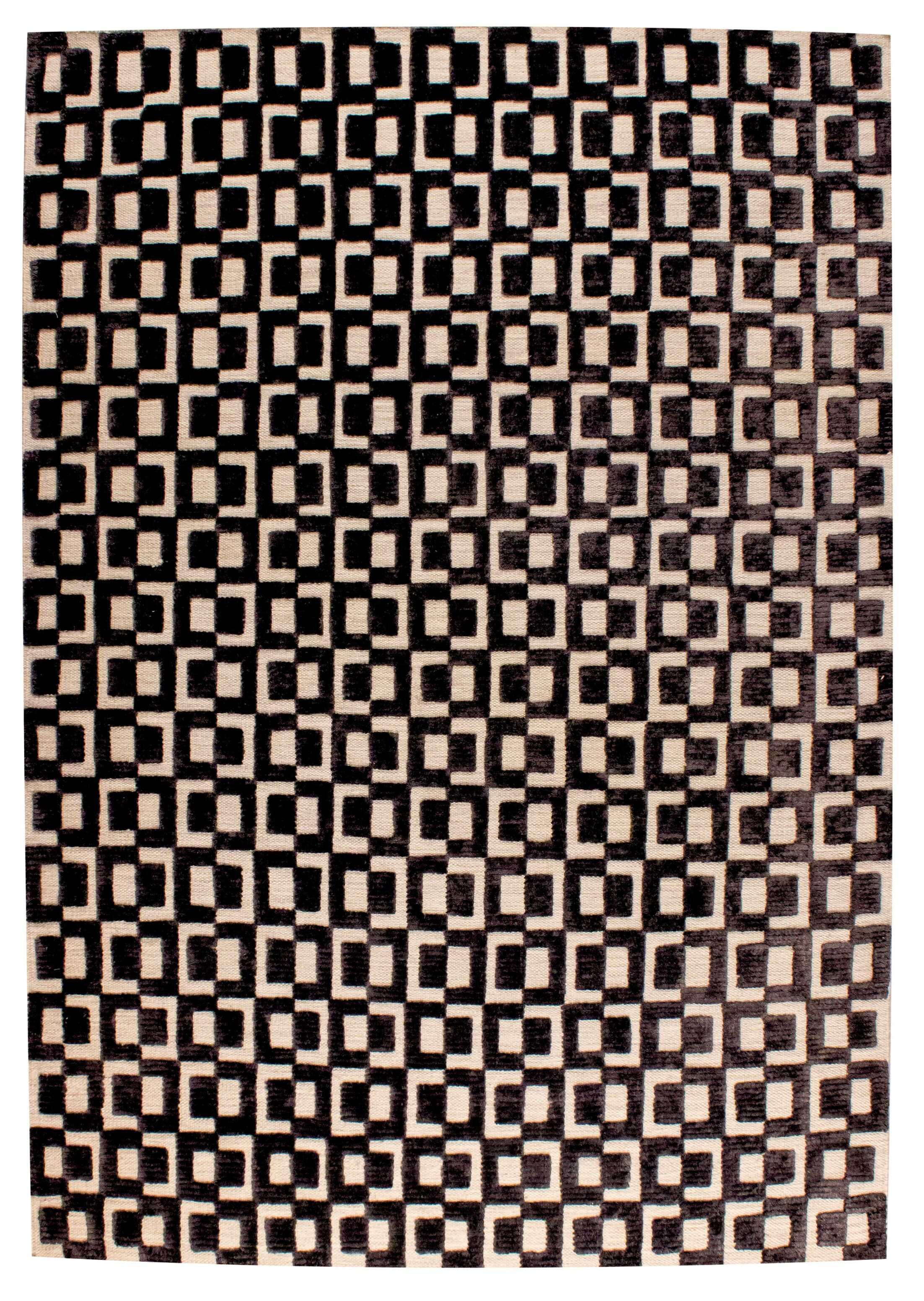 Yonkers Hand-Woven Gray/Brown Area Rug Rug Size: 4' x 6'