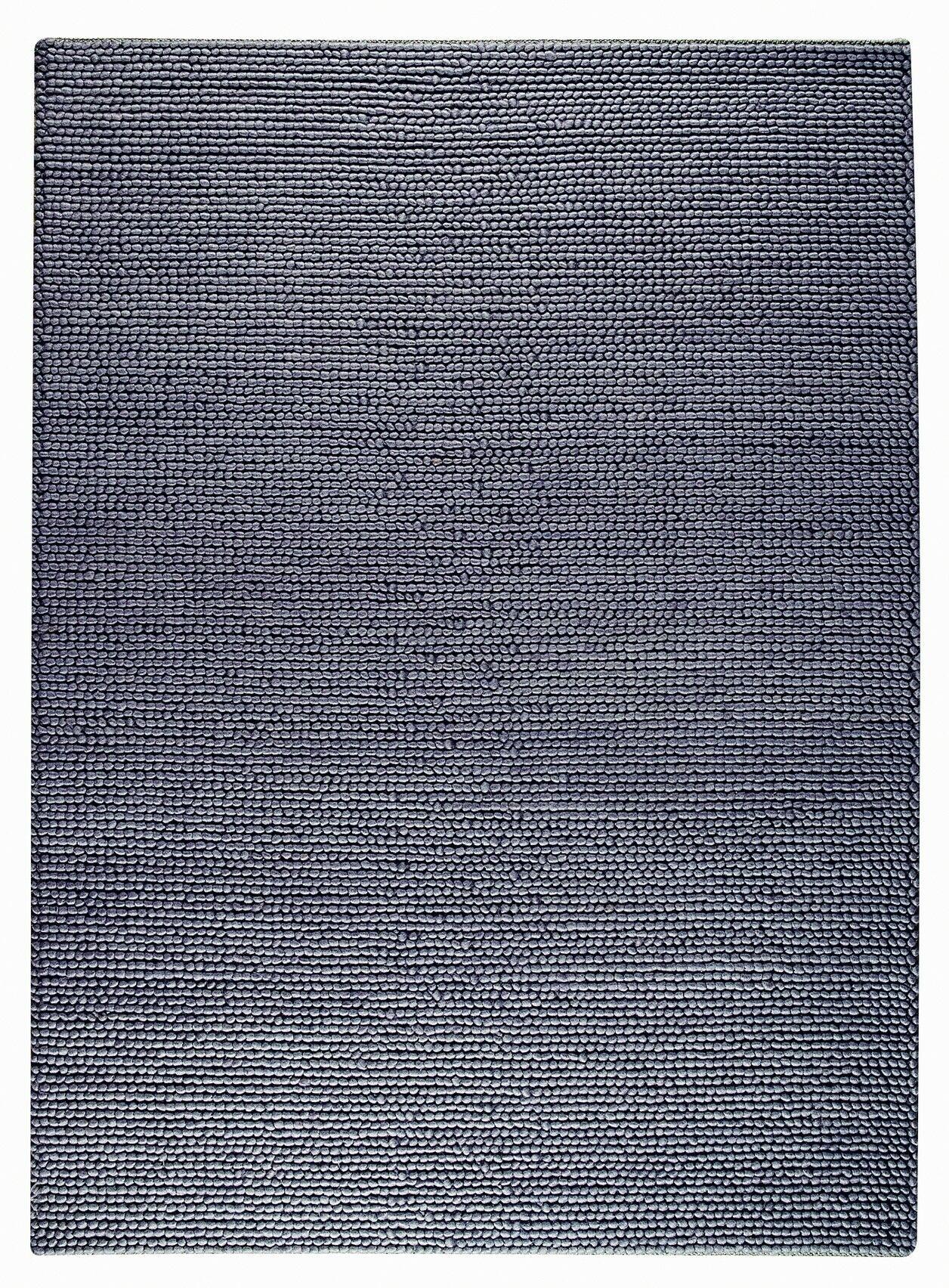 Hoefer Hand-Woven Blue Area Rug Rug Size: 8'3