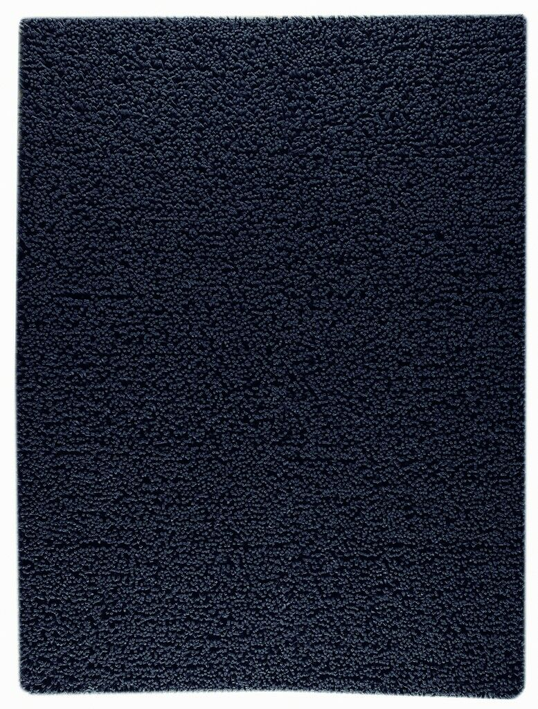 Hogle Hand-Woven Charcoal Area Rug Rug Size: Rectangle 3' x 5'4