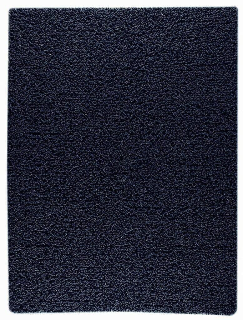 Hogle Hand-Woven Charcoal Area Rug Rug Size: Rectangle 3' x 5'4