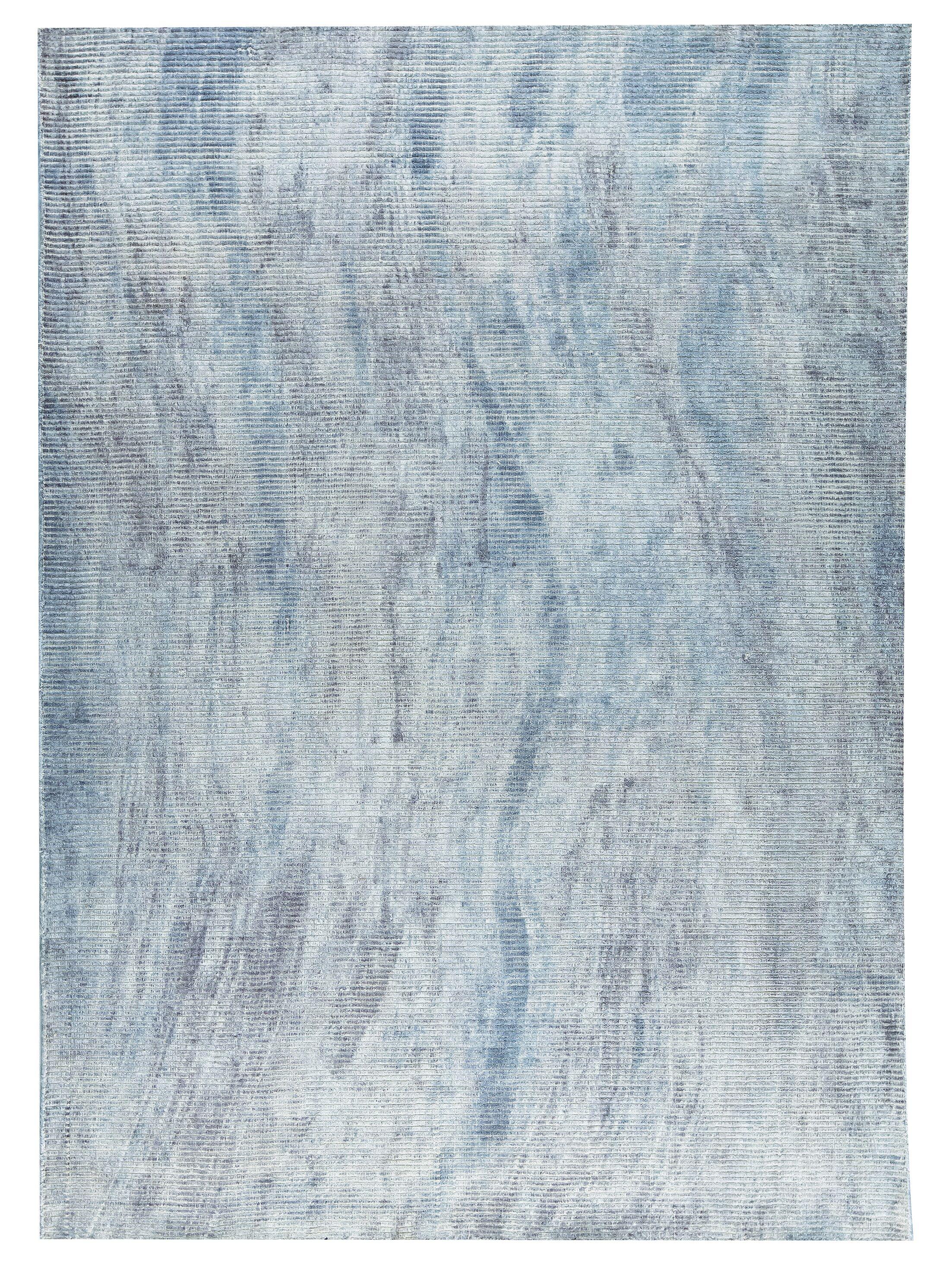 Reno Hand-Woven Soft Gray Area Rug Rug Size: 5' x 8'