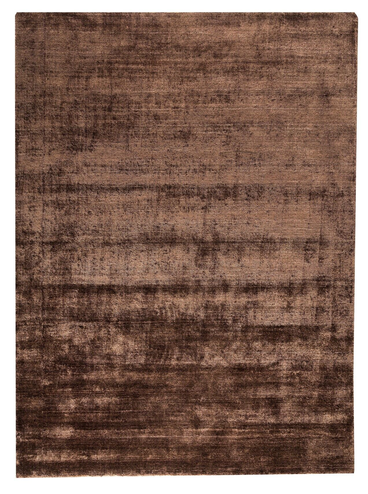 Platinum Hand-Woven Plum Area Rug Rug Size: 5'6