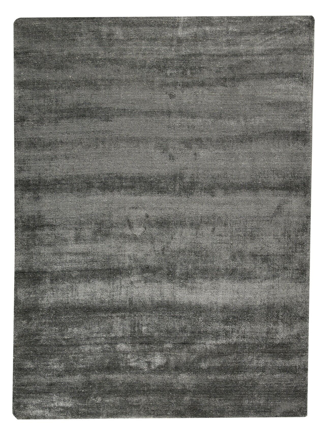 Platinum Hand-Woven Dark Gray Area Rug Rug Size: 8'3
