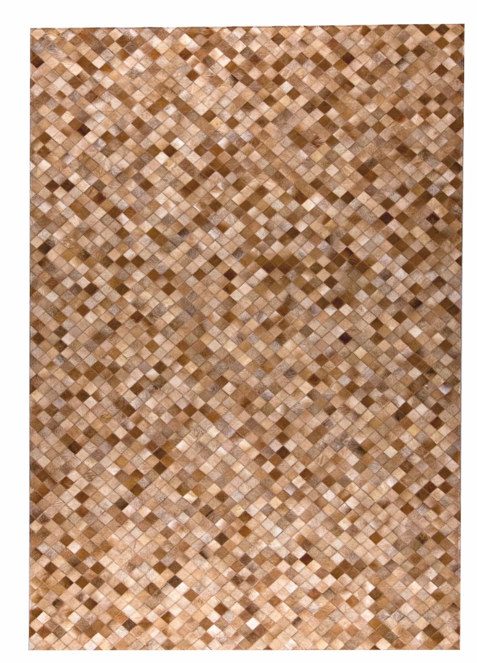 Chess Hand woven Beige Area Rug Rug Size: 9' x 12'