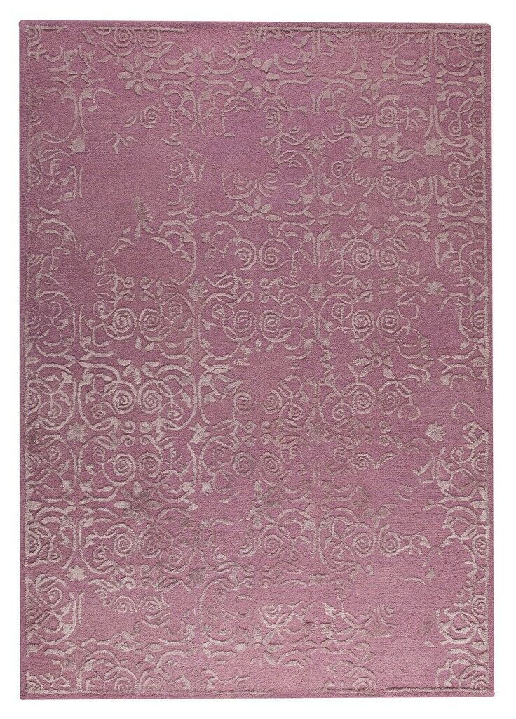 Illusion Hand-Tufted Pink Area Rug Rug Size: 8'3