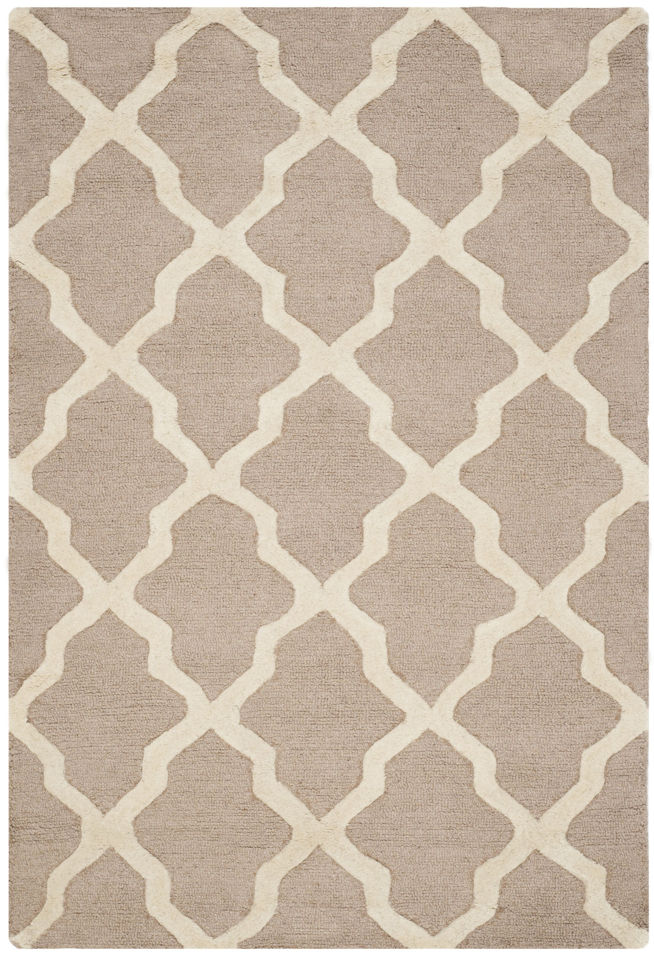 Kirschbaum Hand-Woven Wool Area Rug Rug Size: Rectangle 7'6