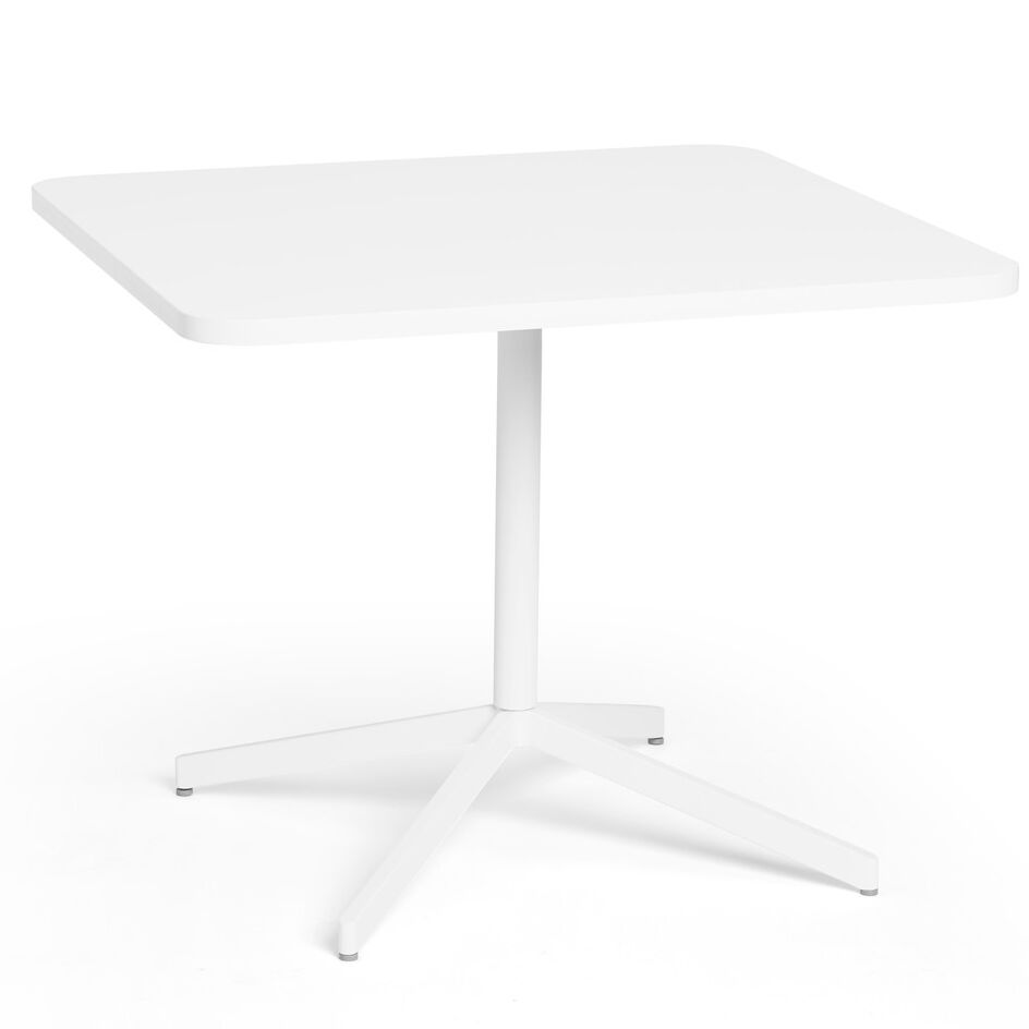Training Table Tabletop Finish: White / White, Size: 30