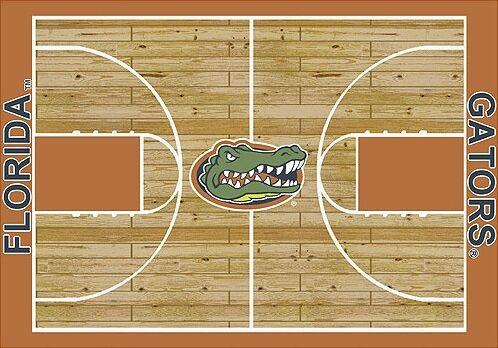 NCAA College Home Court Florida Novelty Rug Rug Size: Rectangle 3'10