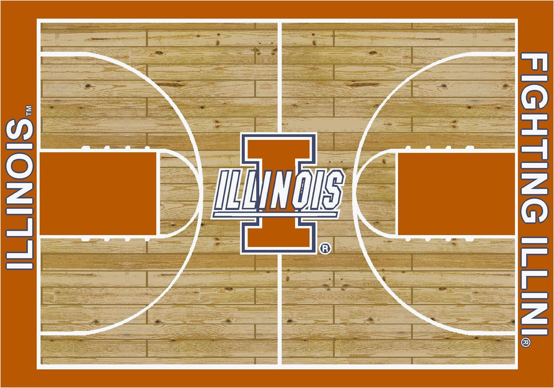 NCAA Area Rug Rug Size: Rectangle 7'8