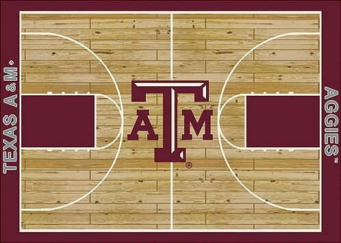 NCAA College Home Court Texas A&M Novelty Rug Rug Size: Rectangle 10'9
