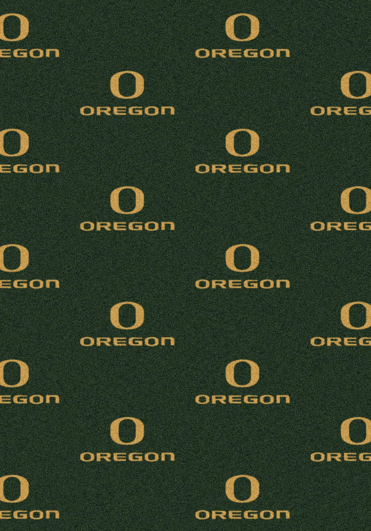 NCAA Team Repeating Novelty Rug NCAA Team: University of Oregon