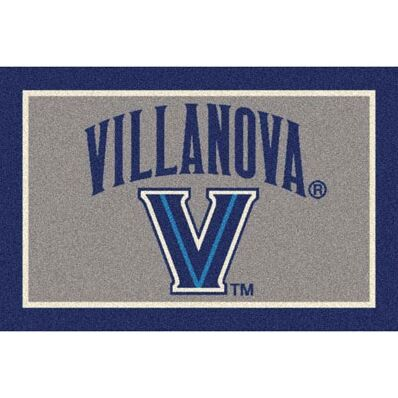 Collegiate Villanova Wildcats Doormat Mat Size: Rectangle 5'4