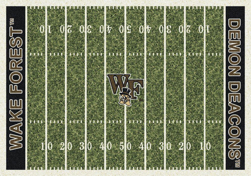 NCAA Home Field Novelty Rug Rug Size: Rectangle 7'8