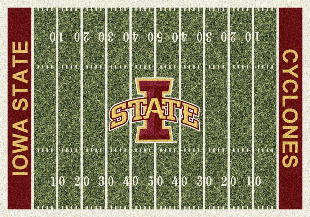 NCAA Home Field Novelty Rug Rug Size: Rectangle 10'9