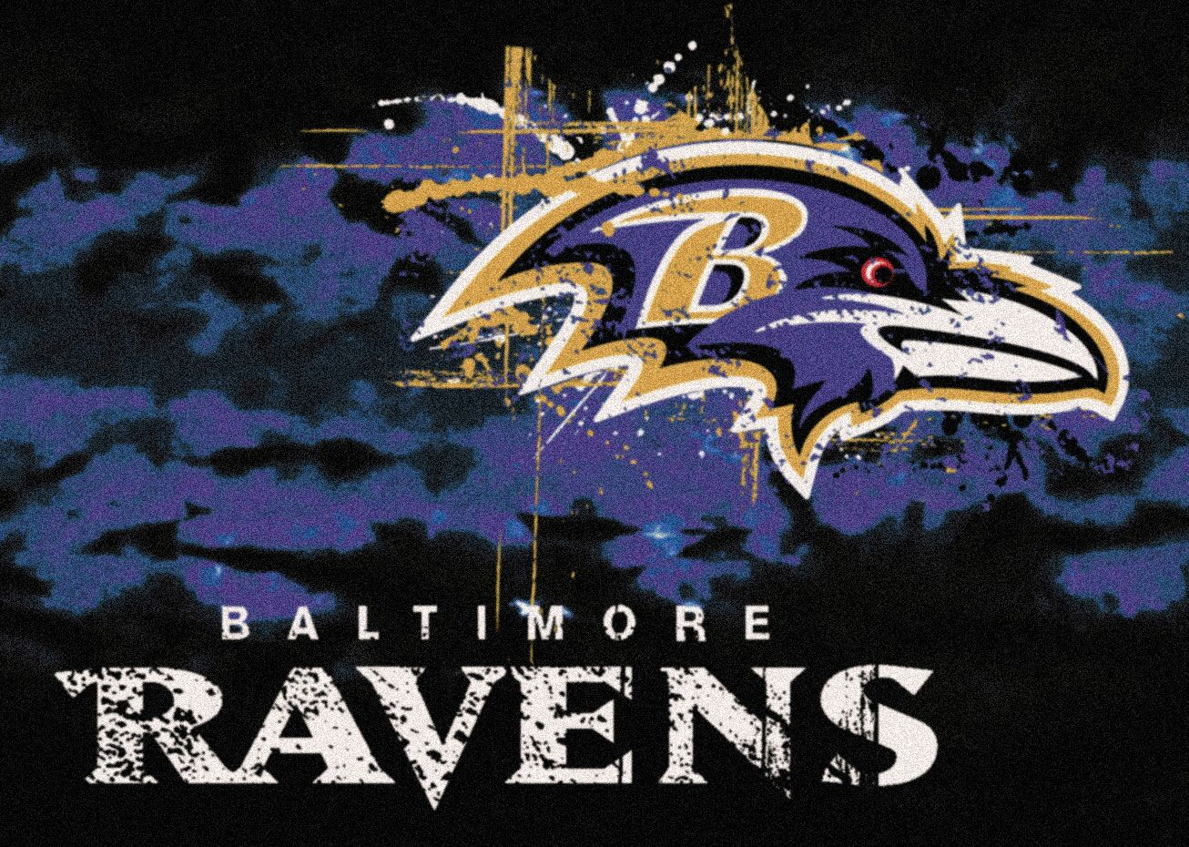 NFL Team Fade Novelty Rug NFL Team: Baltimore Ravens