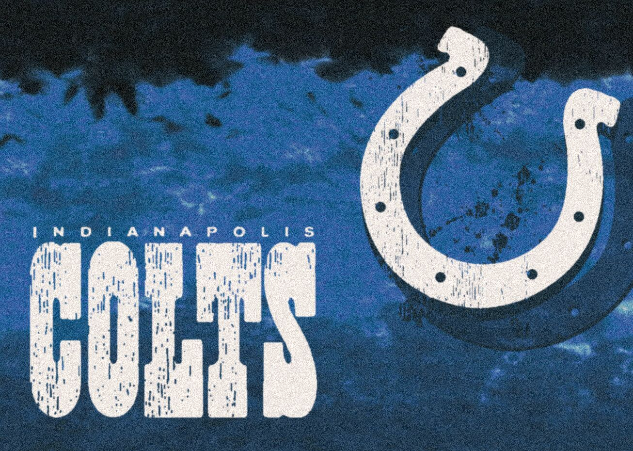 NFL Team Fade Novelty Rug NFL Team: Indianapolis Colts